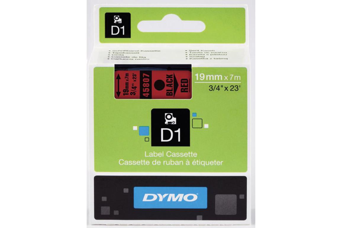Beschriftungsband Dymo 19mmx7m schwarz farblos, Art.-Nr. 00458-SWTR - Paterno B2B-Shop