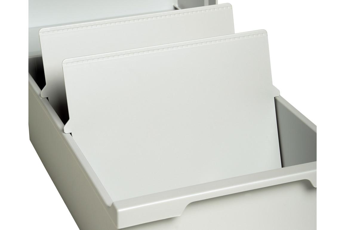 Trennplatten Multiform A5 lichtgrau, Art.-Nr. 05434000 - Paterno B2B-Shop