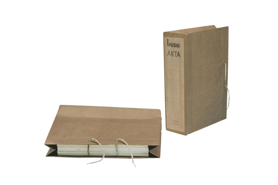 Schutzhüllen Akta Bene A4 hellbraun, Art.-Nr. 096600 - Paterno B2B-Shop