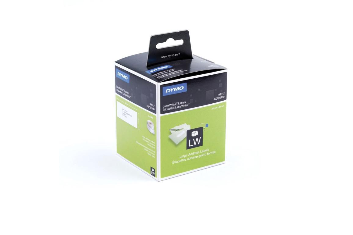 Adressetiketten Dymo 36 x 89 mm weiss, Art.-Nr. 099012 - Paterno B2B-Shop