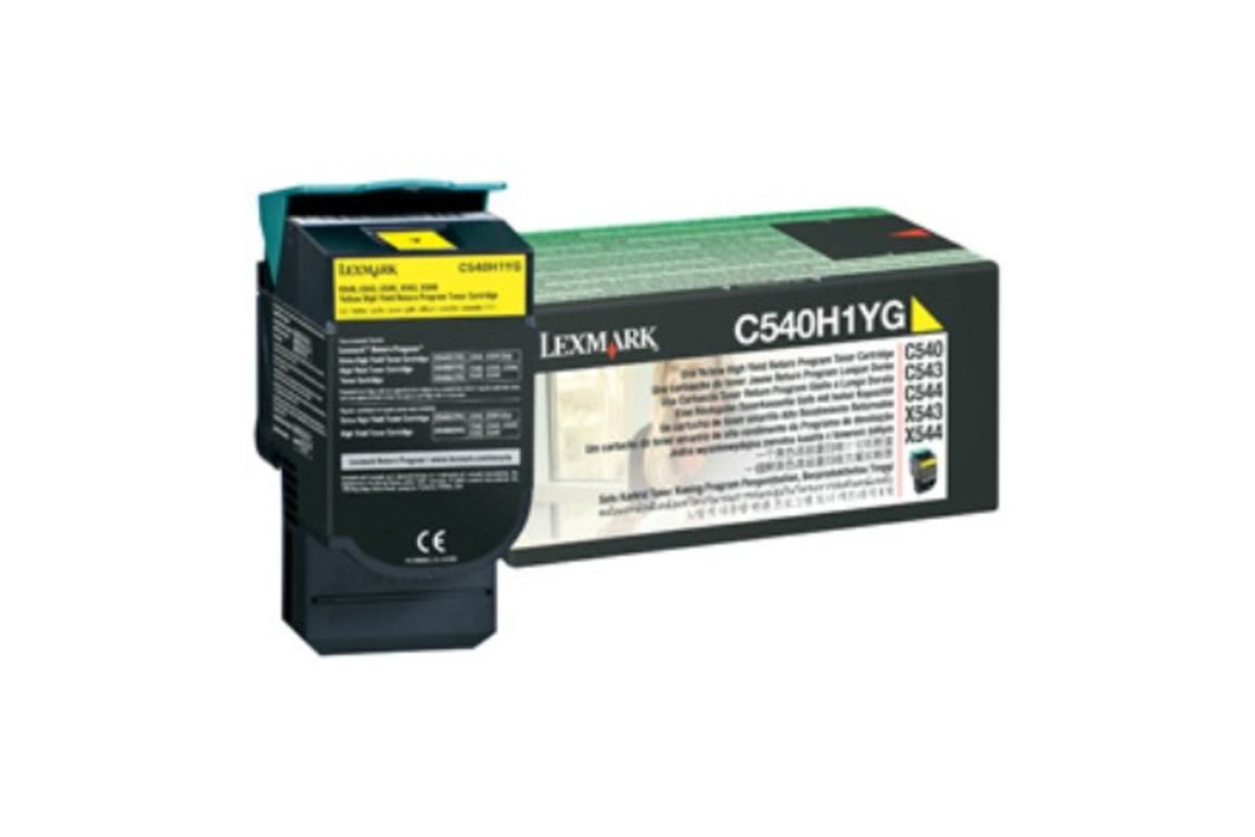 Toner Original Lexmark C 540 Return yellow, Art.-Nr. 0C540H1YG - Paterno B2B-Shop