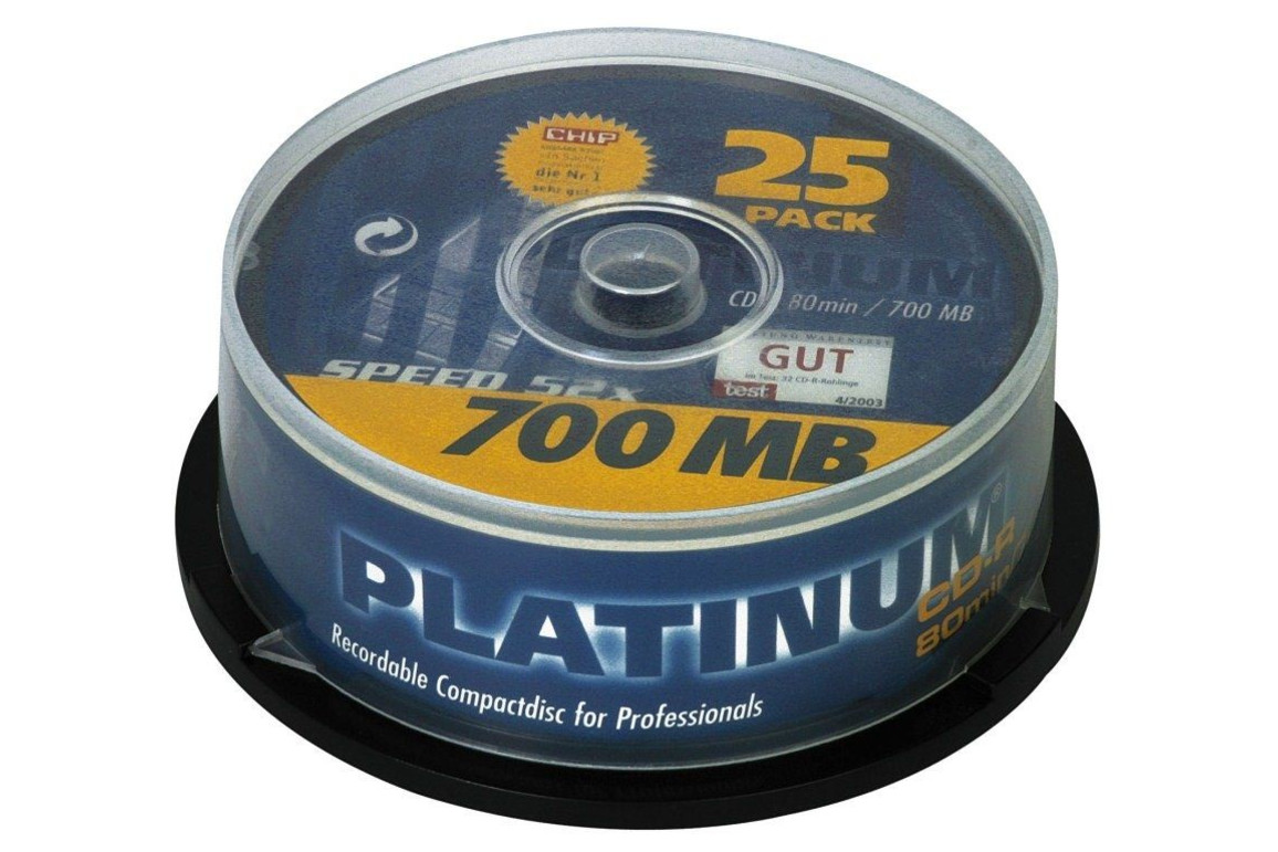 CD-R 700 MB,52-fach 25er-Spindel Intenso, Art.-Nr. 100119 - Paterno B2B-Shop