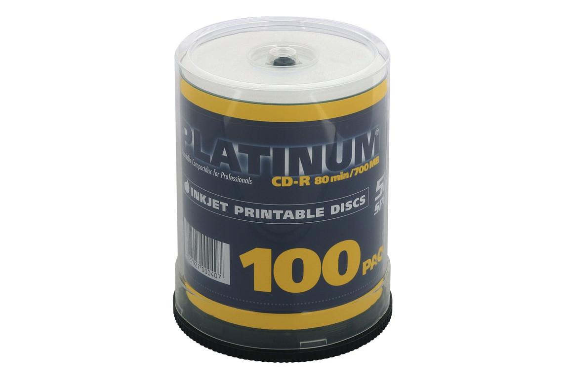 CD-R 700 MB,52-fach 100er-Spindel, Art.-Nr. 100131 - Paterno B2B-Shop
