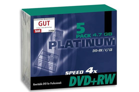 DVD+RW 4,7 GB 4-fach Slim Case Intenso, Art.-Nr. 100161 - Paterno B2B-Shop