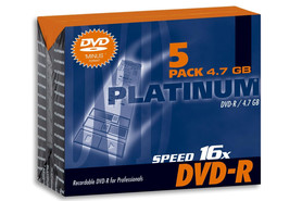 DVD-R 4,7 GB 16-fach Slim Case, Art.-Nr. 100301 - Paterno B2B-Shop