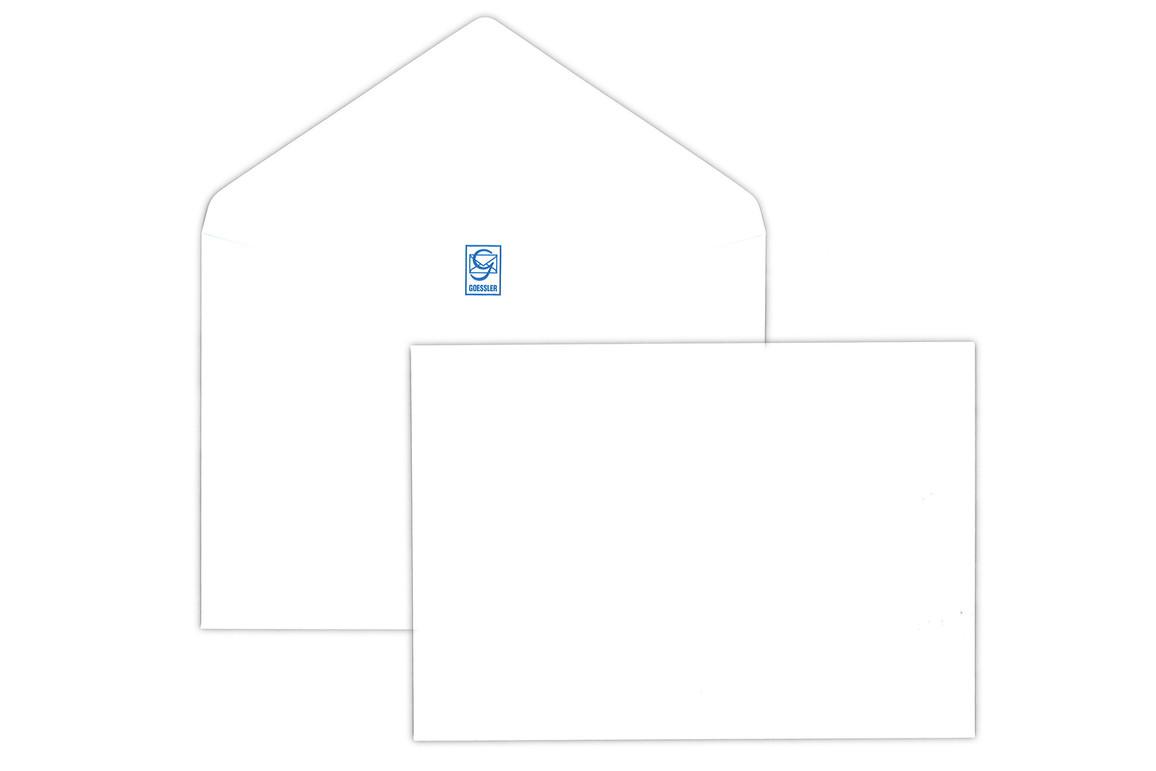 Kuvert Gössler C6 100 gr. weiss, Art.-Nr. 1015K - Paterno B2B-Shop
