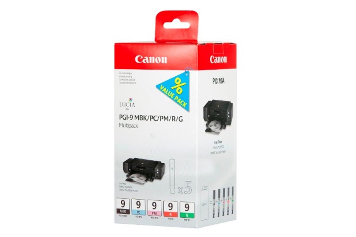 Canon Ink Multi Pack MBK/PC/PM/R/G je 14ml 1x5, Art.-Nr. 1033B013 - Paterno B2B-Shop