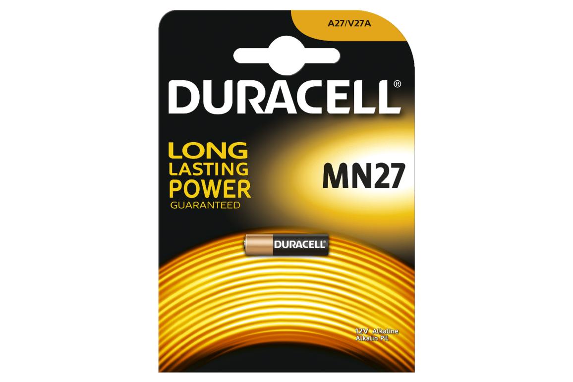 Batterie Duracell MN27 Alkaline, Art.-Nr. 108846 - Paterno B2B-Shop