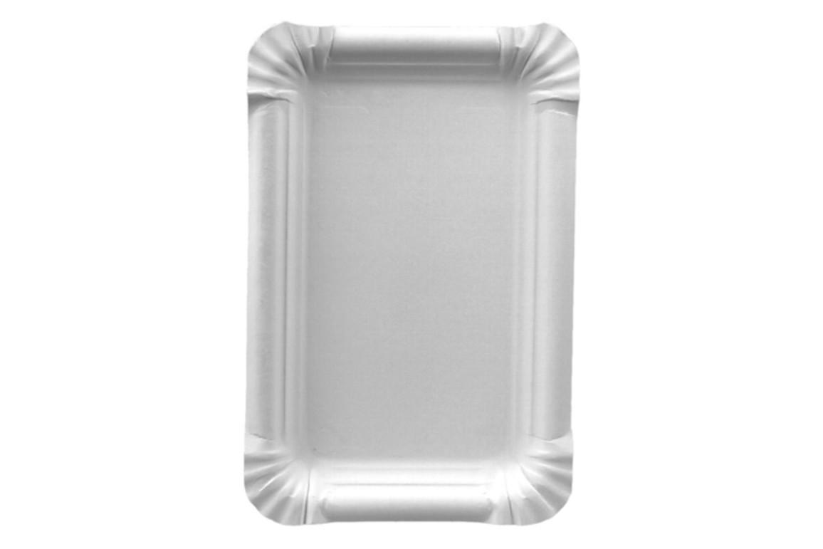 Pappteller 13 x 20 cm weiß, Art.-Nr. 11062 - Paterno B2B-Shop