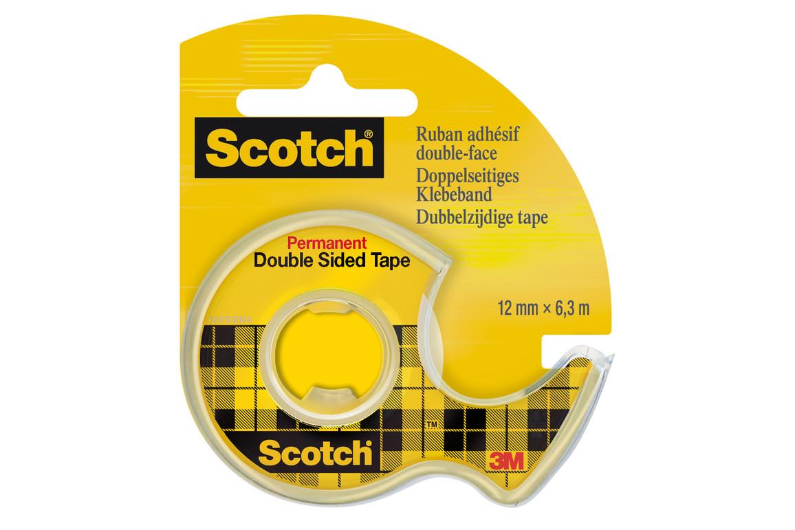 Klebeband Scotch Douplo 12mmx6,3lfm, Art.-Nr. 11272 - Paterno B2B-Shop