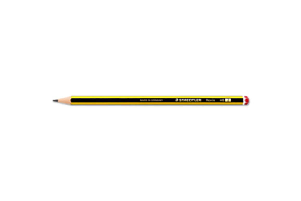Bleistift Noris 122 HB mit Radiertip, Art.-Nr. 122-HB - Paterno B2B-Shop