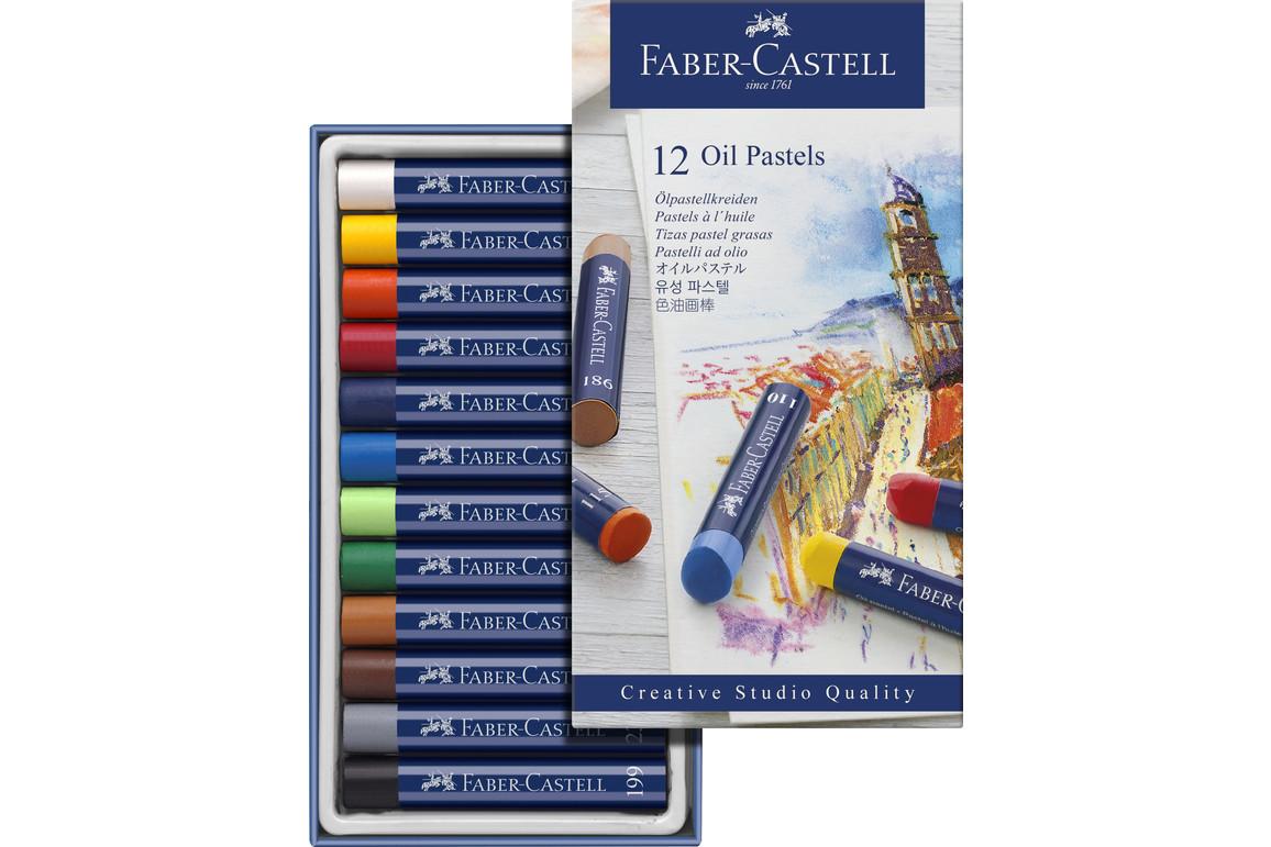 Ölkreiden Faber Castell Studio Qualitry 12er Etui, Art.-Nr. 127012 - Paterno B2B-Shop