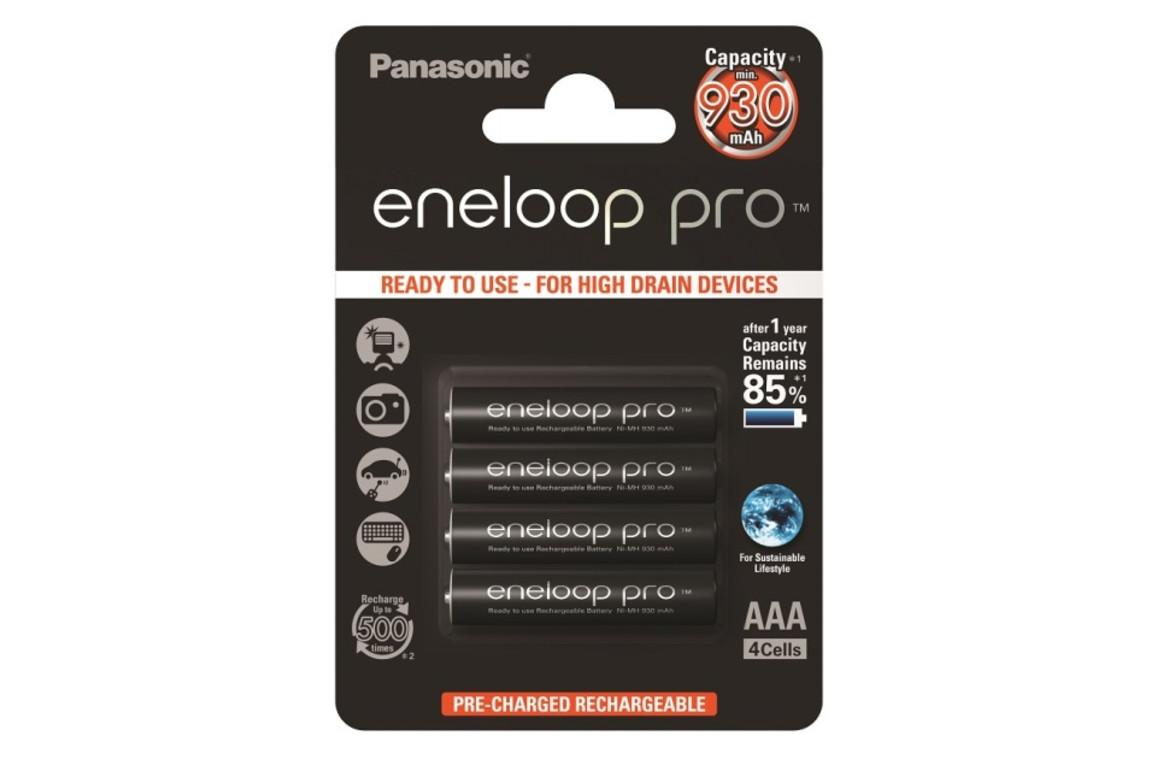 Batterie Akku AAA Micro eneloop pro, Art.-Nr. 136882 - Paterno B2B-Shop