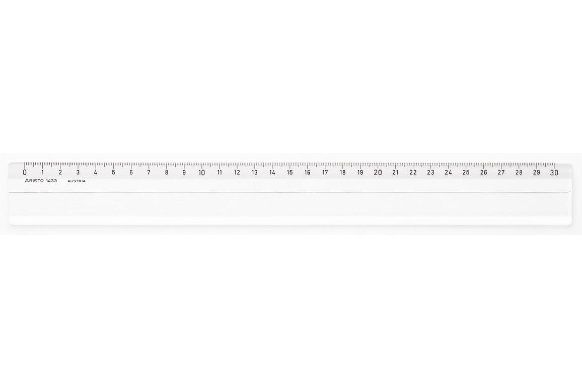 Lineal Aristo 30 cm Plexglasi, Art.-Nr. 1433 - Paterno B2B-Shop