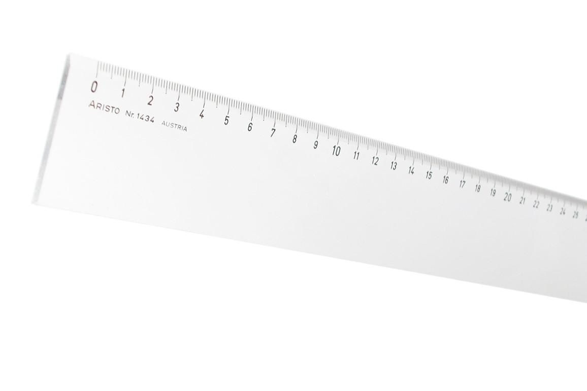 Lineal Aristo 40 cm Plexiglas, Art.-Nr. 1434 - Paterno B2B-Shop