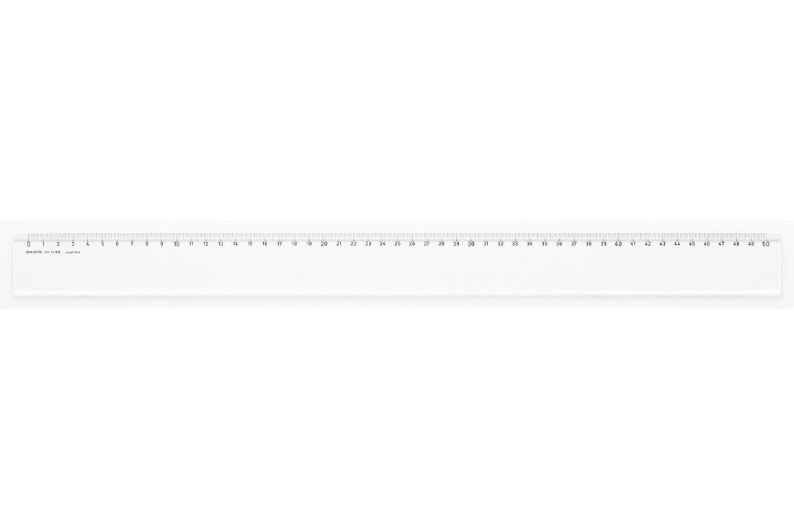 Lineal Aristo 50 cm Plexiglas, Art.-Nr. 1435 - Paterno B2B-Shop