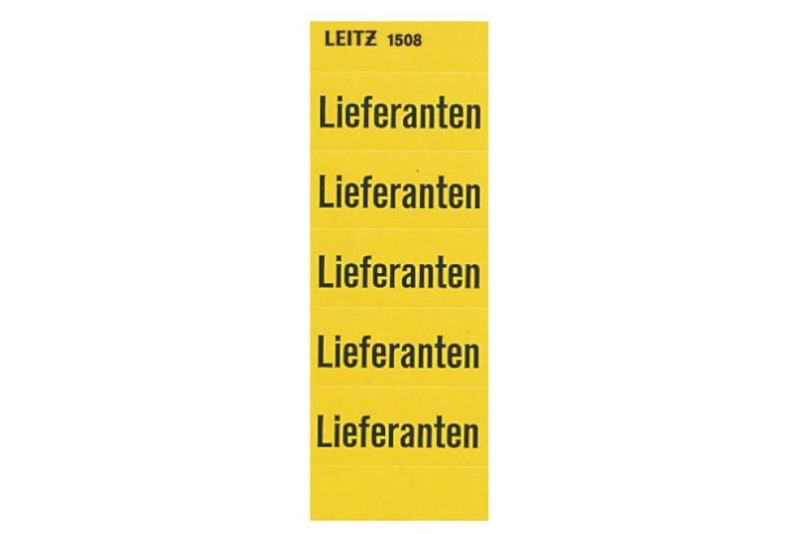 Rückenschilder Leitz Lieferant, Art.-Nr. 1508-00-00 - Paterno B2B-Shop