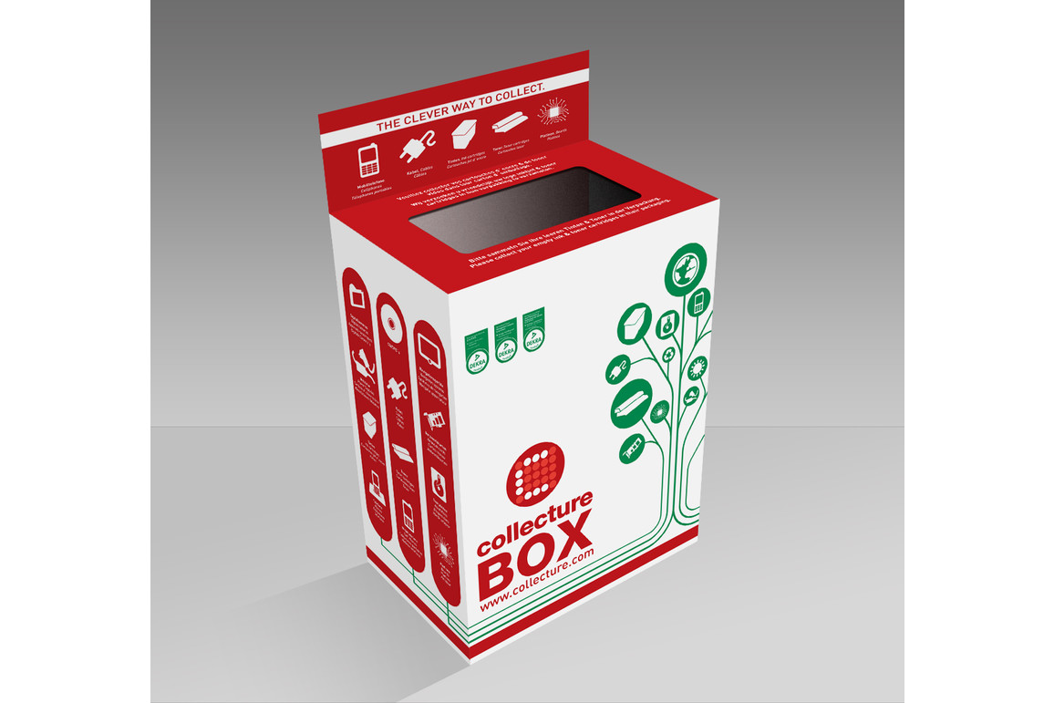 Recycling Collecture Box für Toner-Inkjet Patronen, Art.-Nr. 154590 - Paterno B2B-Shop