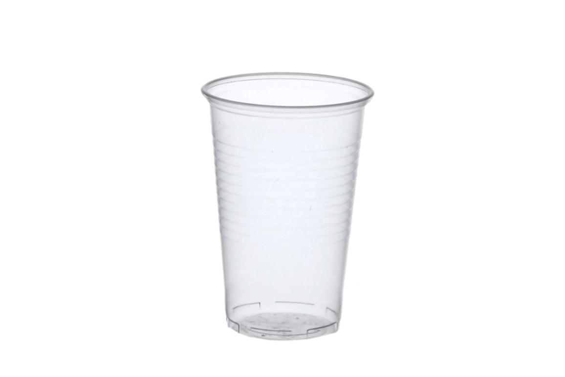 Trinkbecher 0,5 Liter transparent mit Schaumrand, Art.-Nr. 16133 - Paterno B2B-Shop