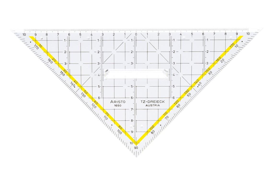 TZ Dreieck Aristo 22,5cm mit Griff, Art.-Nr. 1650-2 - Paterno B2B-Shop