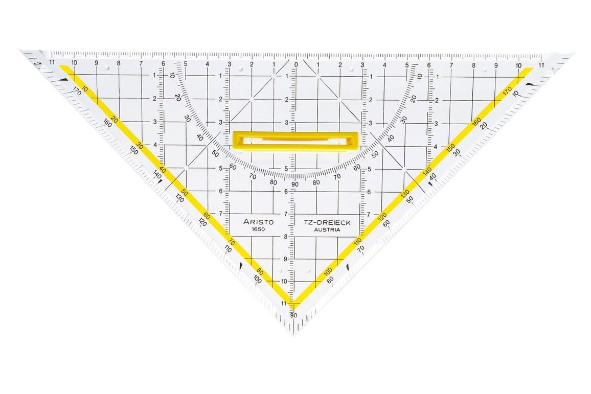 TZ Dreieck Aristo 25 cm mit Griff, Art.-Nr. 1650-4 - Paterno B2B-Shop