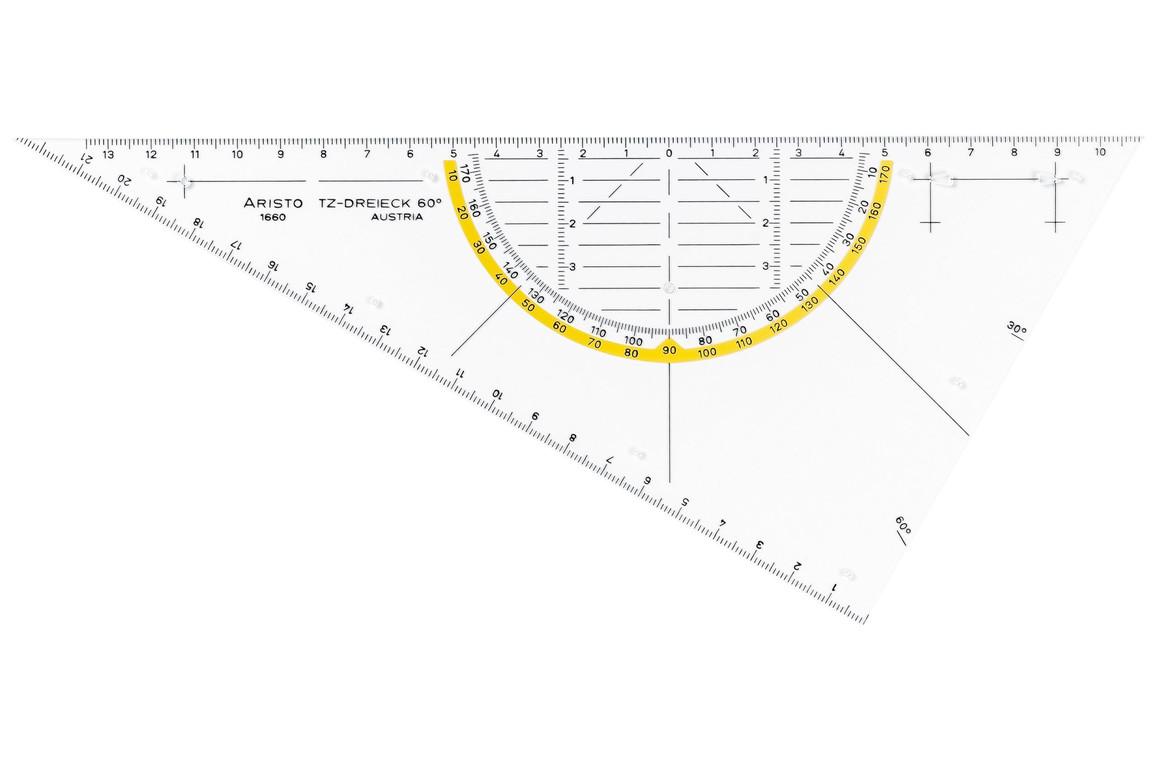 TZ Dreieck Aristo 60 Grad, Art.-Nr. 1660-1 - Paterno B2B-Shop