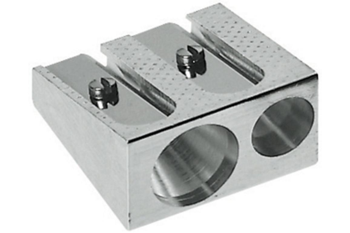 Spitzer Doppelspitzer Metall Block, Art.-Nr. 183400 - Paterno B2B-Shop