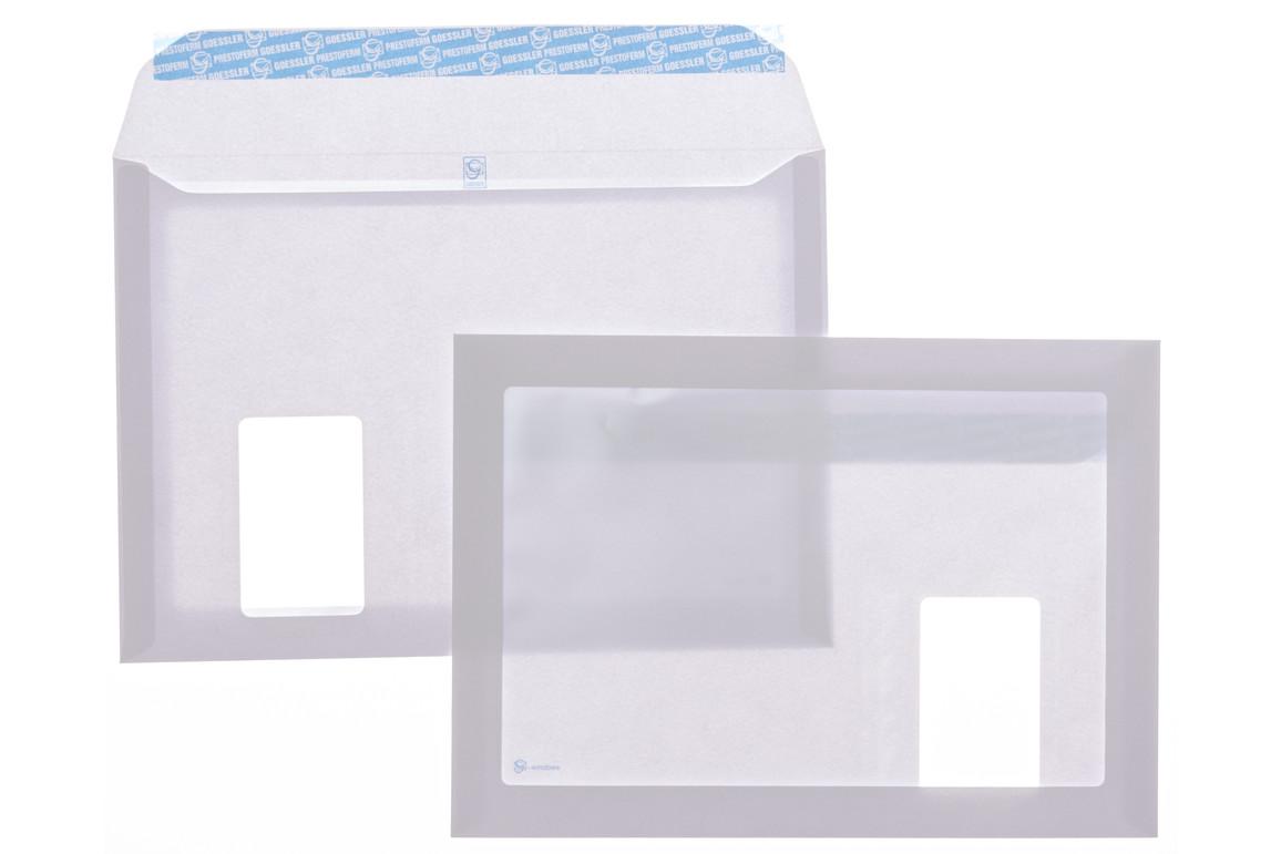 Kuverttasche Gössler C4 SV FL 120 gr. G-Windows, Art.-Nr. 2048T - Paterno B2B-Shop