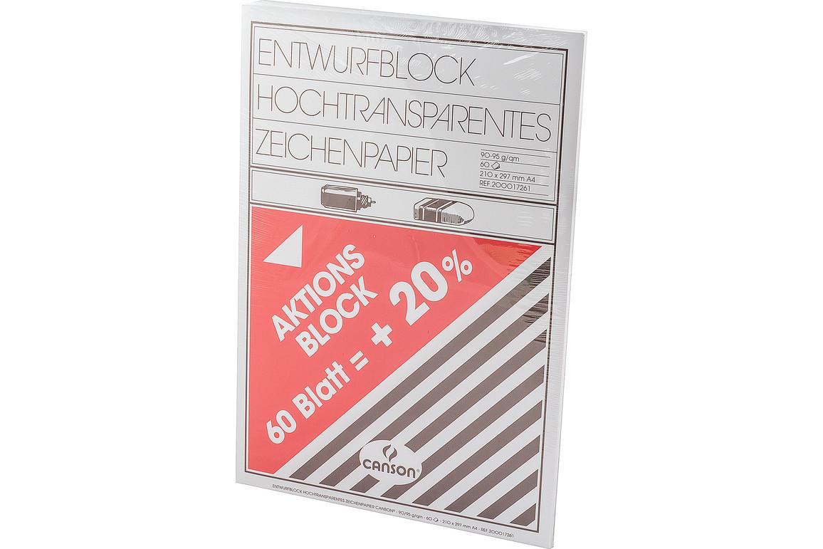 Transparentpapier A3 90/95 gr., Art.-Nr. 205-29,7X42 - Paterno B2B-Shop