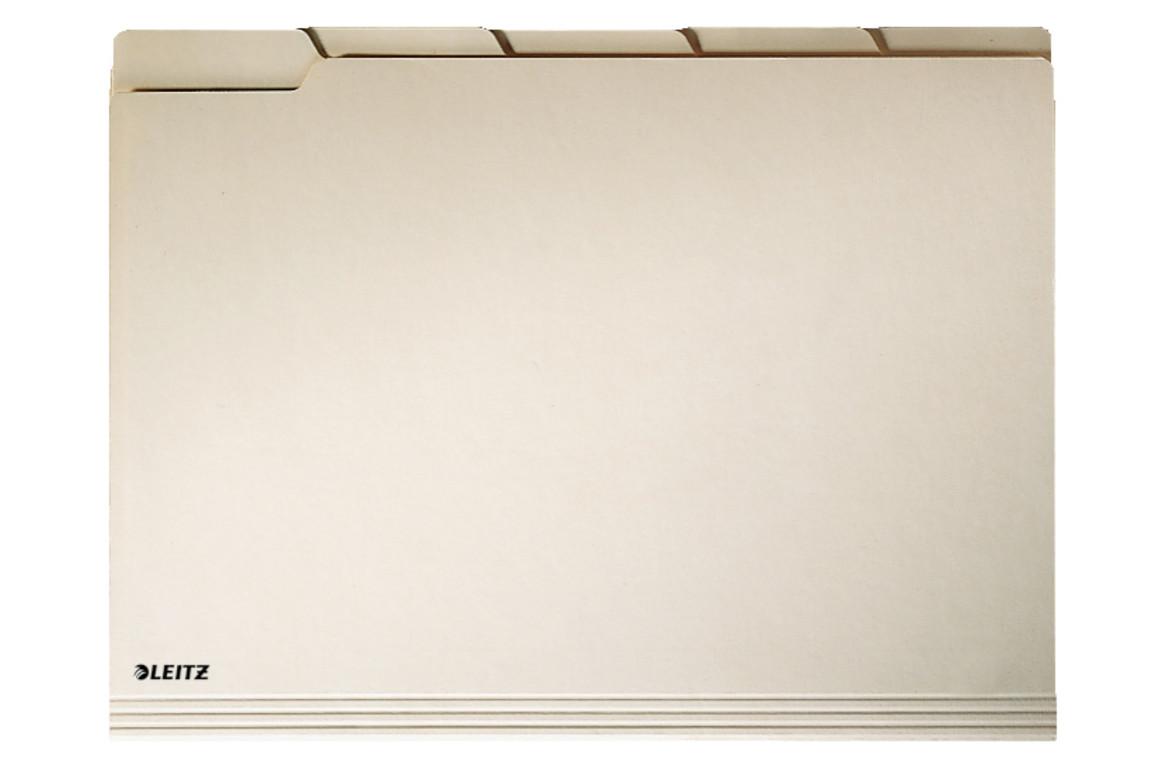 Einstellmappe Leitz mit Tab 2434 chamois, Art.-Nr. 2434 - Paterno B2B-Shop