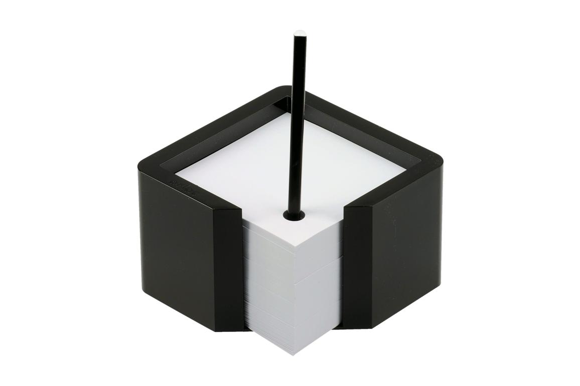 Zettelbox Arlac Memioren 10x10 cm karminrot, Art.-Nr. 257-KMRT - Paterno B2B-Shop