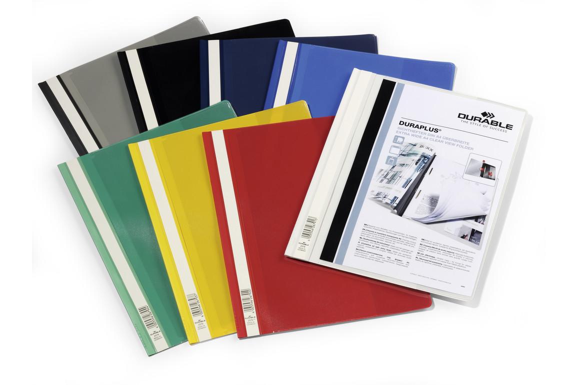 Angebotsmappe Durable Duraplus A4 grün, Art.-Nr. 2579-GN - Paterno B2B-Shop