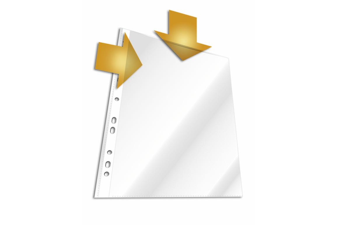 Klarsichthüllen Durable A4 PP genarbt, Art.-Nr. 266319 FARBLOS - Paterno B2B-Shop