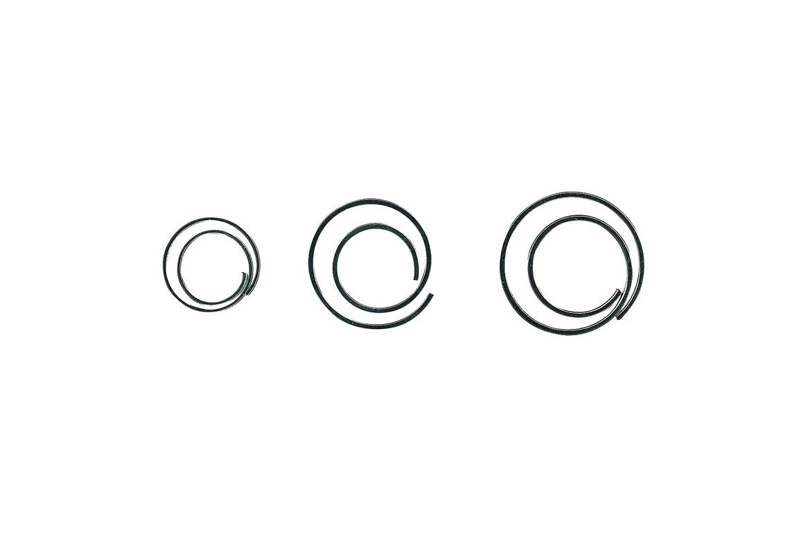 Büroklammern Alco 270 CIRCULAR spiralförmig, Art.-Nr. 270ALCO - Paterno B2B-Shop