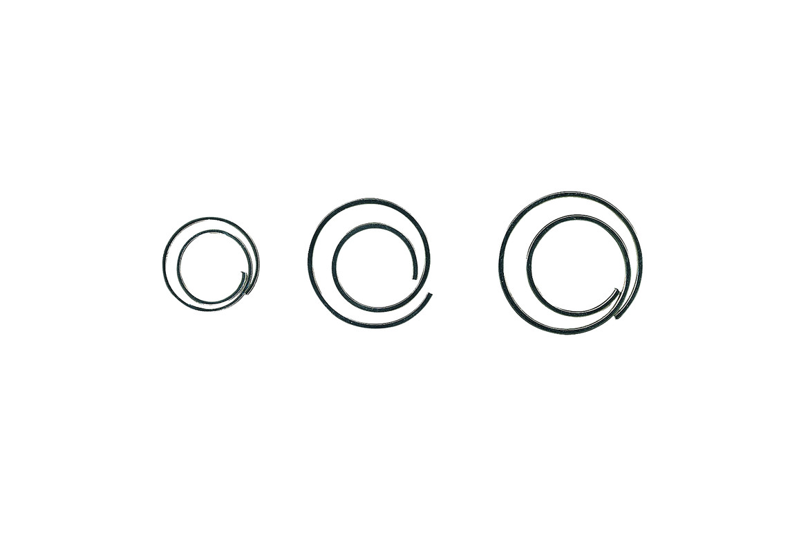 Büroklammern Alco 271 CIRCULAR spiralförmig, Art.-Nr. 271ALCO - Paterno B2B-Shop