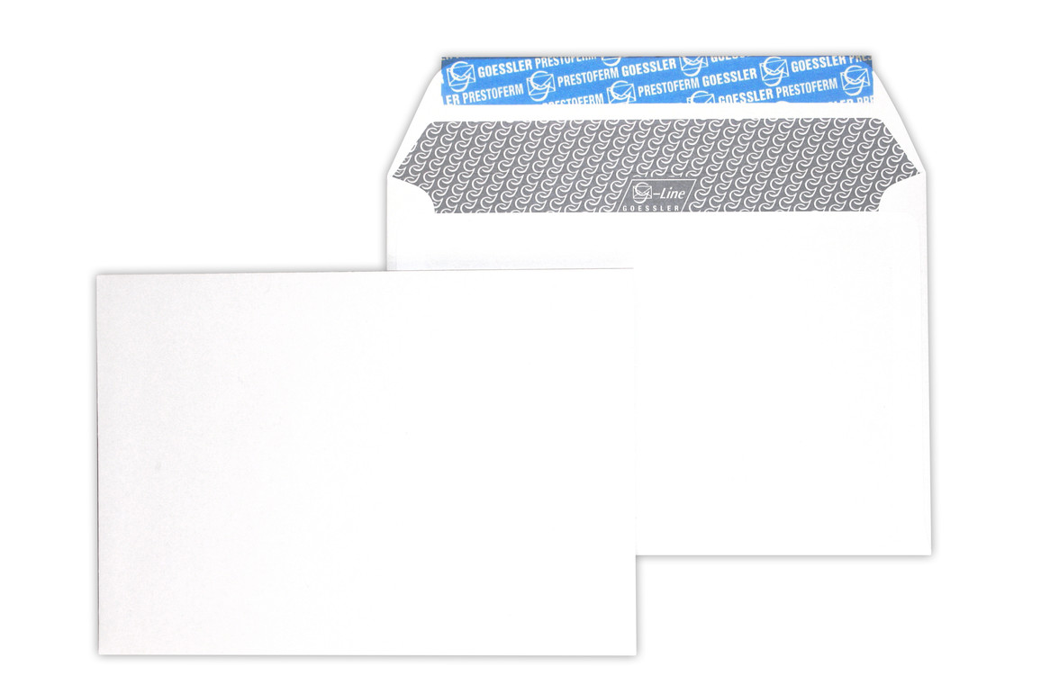 Kuvert Gössler C6/5 RN-AB 80 gr. Renova grau, Art.-Nr. 2911K - Paterno B2B-Shop