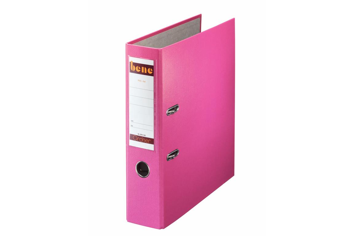 Ordner Bene Standard breit rosa, Art.-Nr. 291400-RS - Paterno B2B-Shop