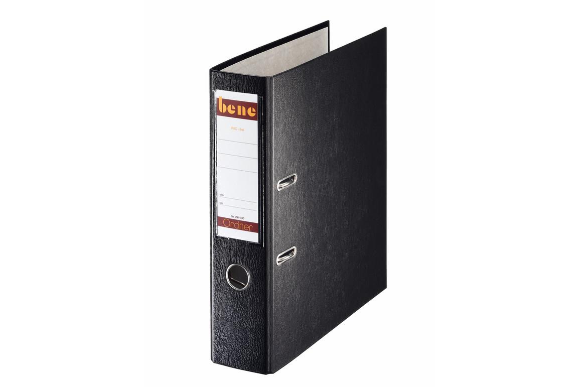 Ordner Bene Standard breit schwarz, Art.-Nr. 291400-SW - Paterno B2B-Shop