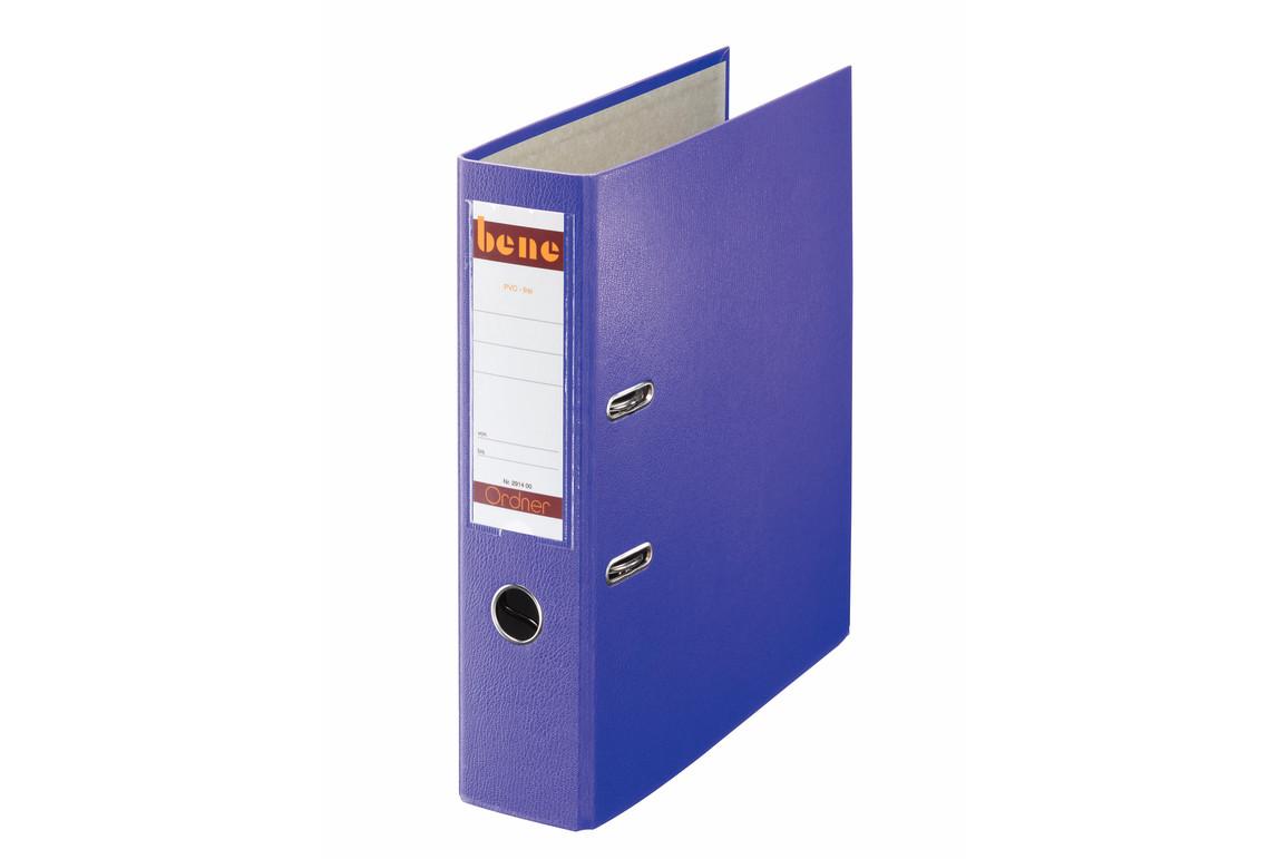 Ordner Bene Standard breit violett, Art.-Nr. 291400-VI - Paterno B2B-Shop