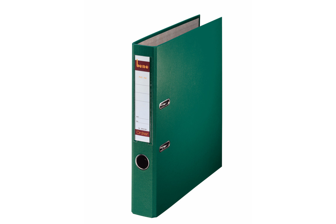 Ordner Bene Standard schmal grün, Art.-Nr. 291600-GN - Paterno B2B-Shop