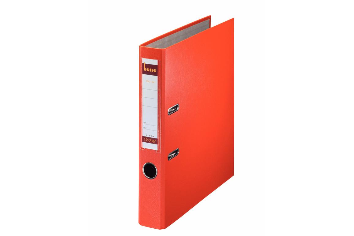 Ordner Bene Standard schmal orange, Art.-Nr. 291600-OR - Paterno B2B-Shop