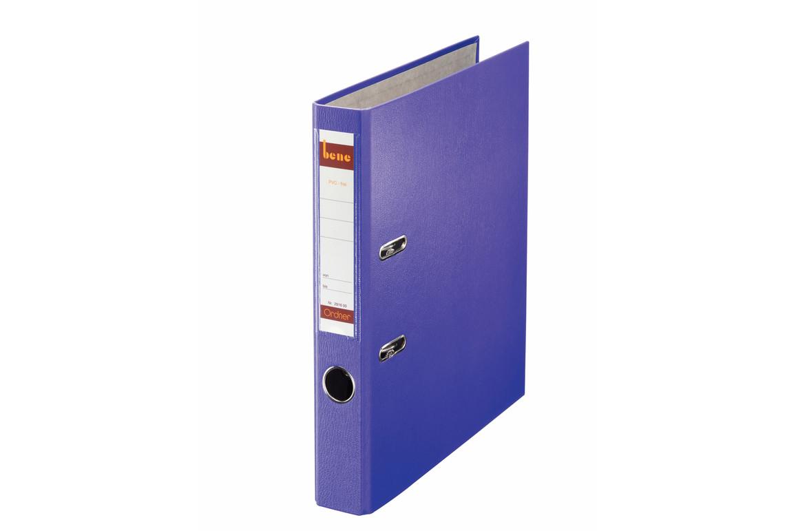 Ordner Bene Standard schmal violett, Art.-Nr. 291600-VI - Paterno B2B-Shop
