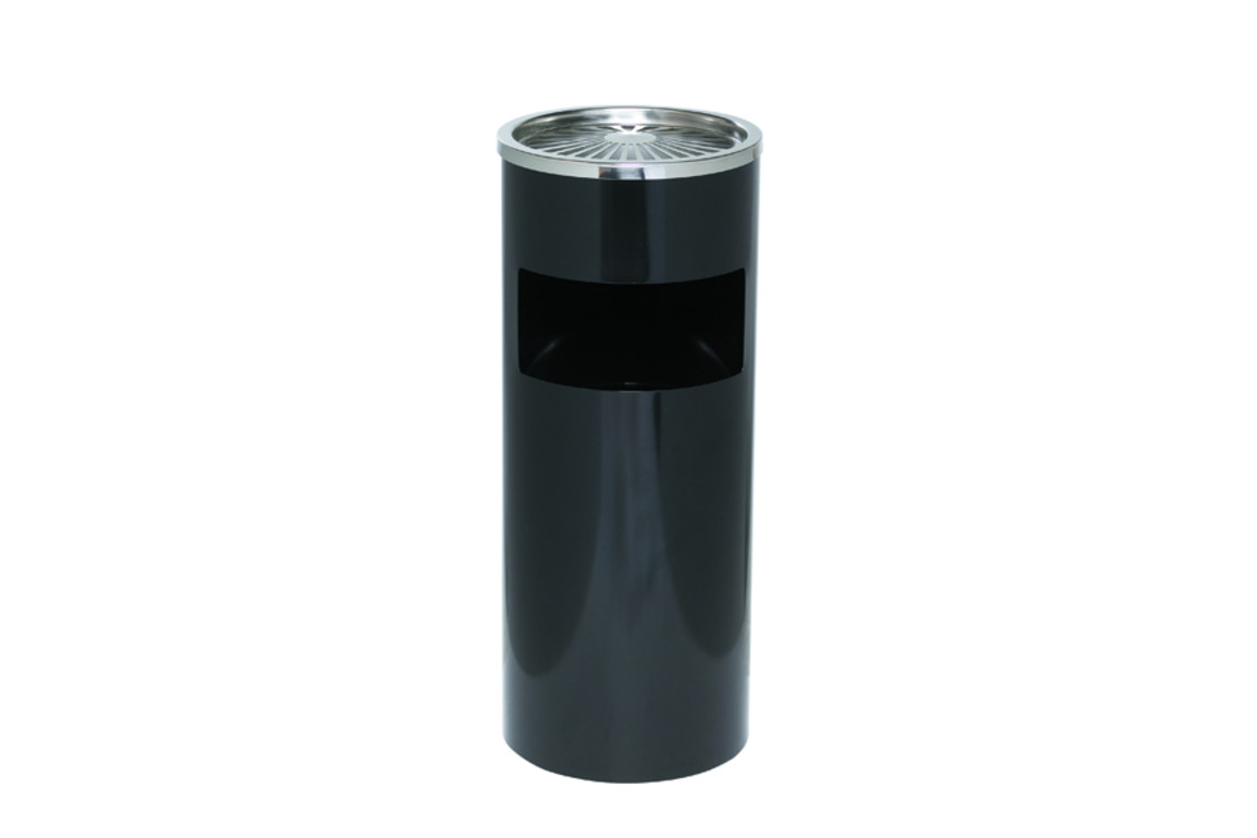 Standascher Abfallsammler Alco 25cm schwarz, Art.-Nr. 2940-SW - Paterno B2B-Shop