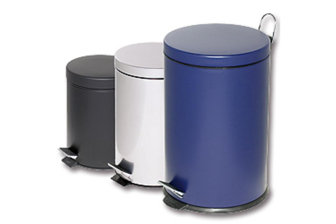 Tretabfalleimer Alco 5 Liter blau, Art.-Nr. 2960-BL - Paterno B2B-Shop