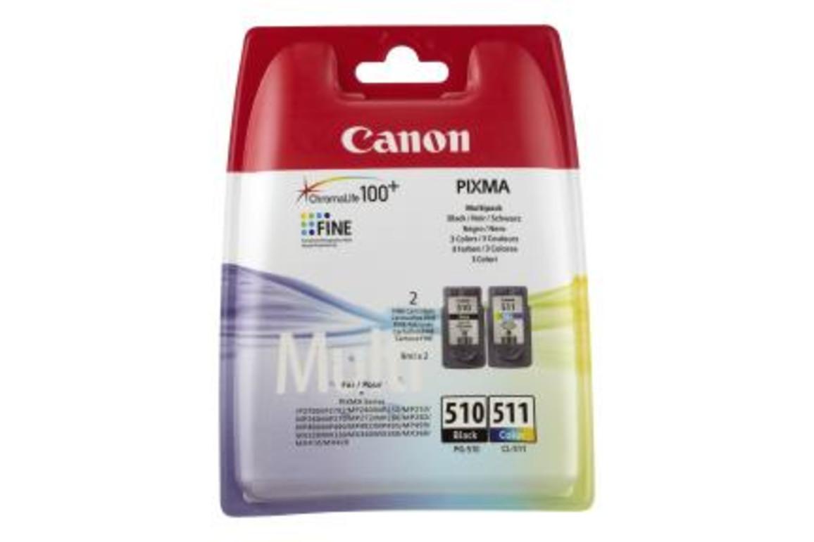 Canon PG510/CL511 Multi Pack je 9ml 1x2, Art.-Nr. 2970B010 - Paterno B2B-Shop