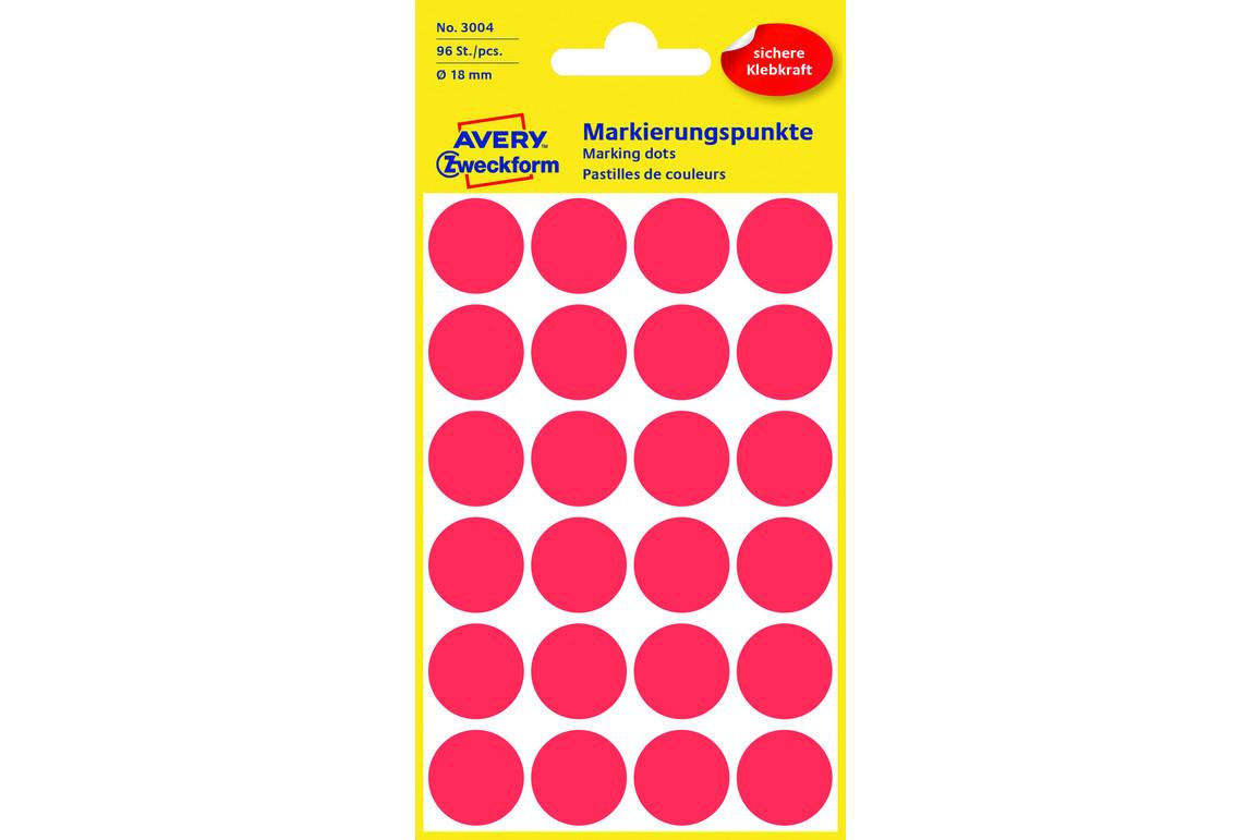 Markierungspunke ZWF Ø 18 mm, rot, Art.-Nr. 3004ZWF - Paterno B2B-Shop