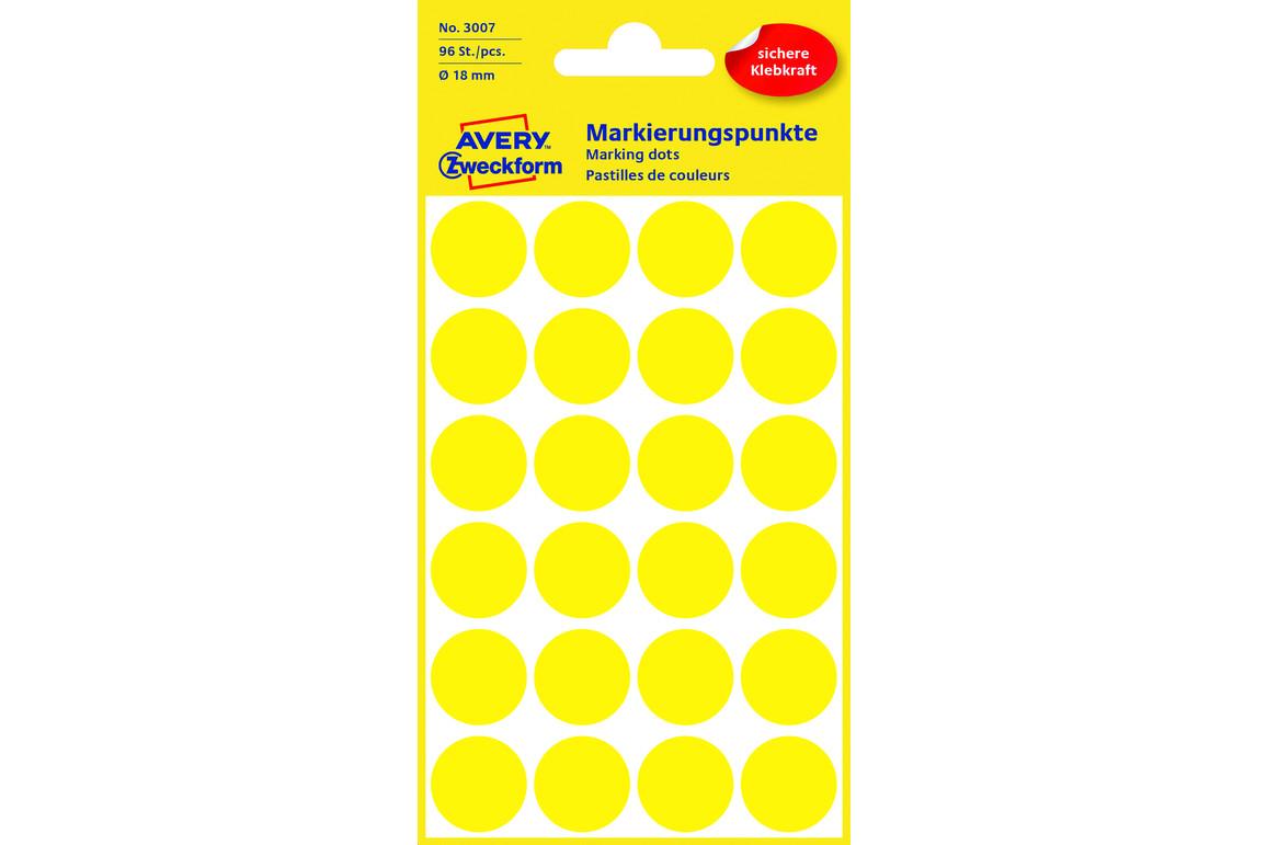 Markierungspunke ZWF Ø 18 mm, gelb, Art.-Nr. 3007ZWF - Paterno B2B-Shop