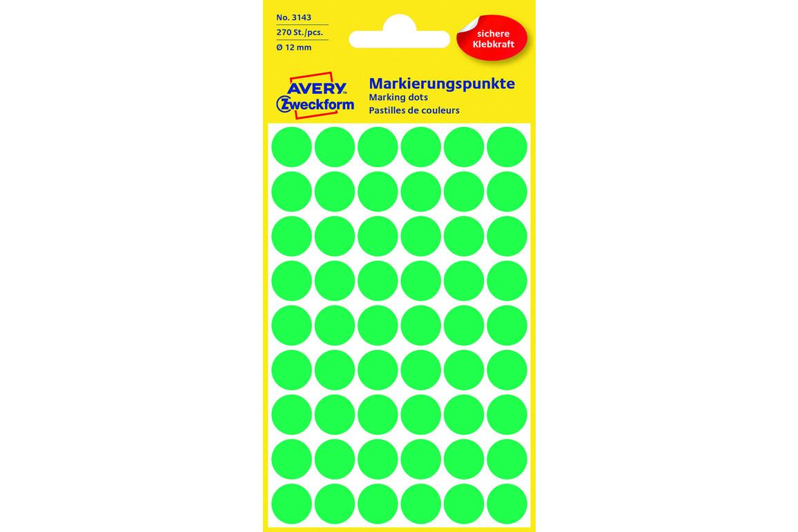Markierungspunke ZWF Ø 12 mm, grün, Art.-Nr. 3143ZWF - Paterno B2B-Shop