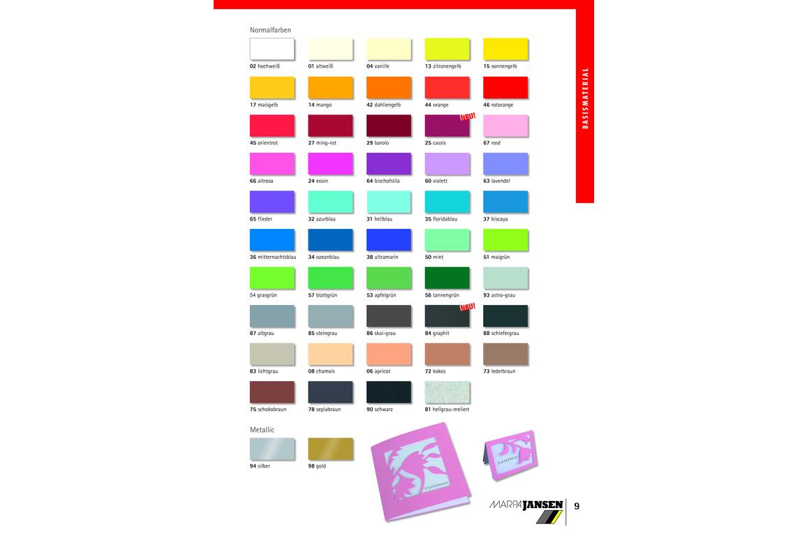 Tonpapier MarpaJansen 130gr. 50x70cm tannengrün, Art.-Nr. 50X70CM-TAGN - Paterno B2B-Shop