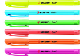 Textmarker Stabilo flash 555, Art.-Nr. 555 - Paterno B2B-Shop